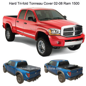 Hard Tri-Fold Pickup Truck Bed Covers for 02-08 RAM 1500 pictures & photos
