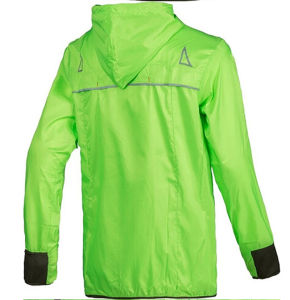 100% Dwr-Coated Polyester Unisex Running Jacket with Waterproof Feature pictures & photos