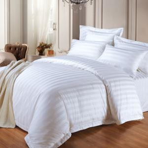 Wholesale 250 Thread Count Bedding Queen Size Bed Sheet Set Stripe 100% Cotton Bedding