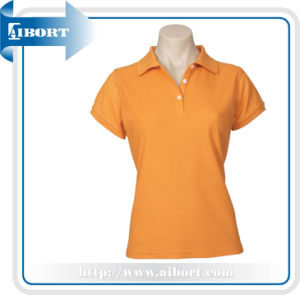 Orange Dry Fit Quick Sports Lady T-Shirt (ATPL-0179)