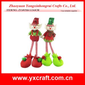 Christmas Decoration (ZY11S316-1-2) Christmas Spring Elf Statue Gift pictures & photos