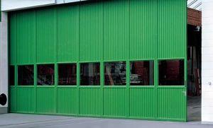 Industrial Sliding Door, Galvanized Steel Surface, PU Foam Injection pictures & photos