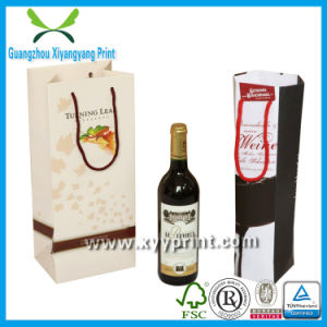 Custom Paper Wine Bag Gift Wine Paper Bag for Wine pictures & photos