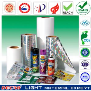 Decro BOPP Holographic Packaging Film