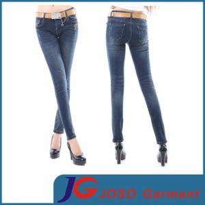 Power Stretch Skinny Jean Ladies Jeans (JC1225) pictures & photos