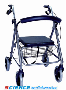 Aluminum Foldable Rollator (SC-RL03 (A3)) pictures & photos