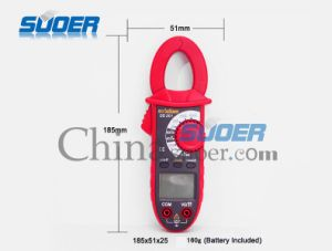 Suoer High Quality Portable Electric Digital Multimeter (SD_201) pictures & photos