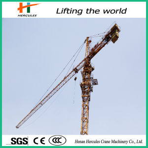 Self-Erecting Tower Crane Qtz80 for Construction pictures & photos