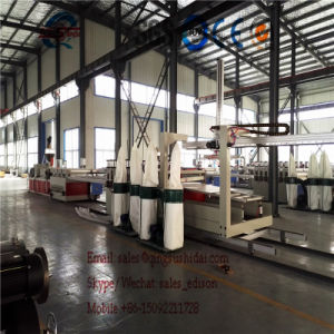 PVC Marble Sheet Making Machine Particle Board Making Machine PVC Decorating Board Sheet Making Machine PVC Decorating Board Sheet Extrusion Line Production Li pictures & photos