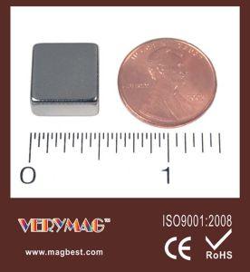 Block Neodymium Magnets 1-2 X 1-2 X 1-4 Inch