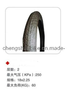 Black Inflatable Bicycle Tire CS-Ty1253 pictures & photos
