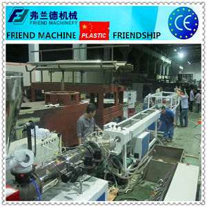 PVC Two Outlet Pipe Production Line pictures & photos