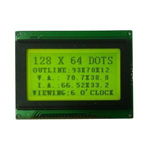 Cog LCD Module Lower Power 128X64 Graphic pictures & photos