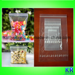 Clear LDPE Plastic Zipper Lock Bags Self-Sealed Bags pictures & photos