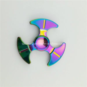 2017 New Bat Metal Rainbow Fidget Spinner with Different Designs pictures & photos