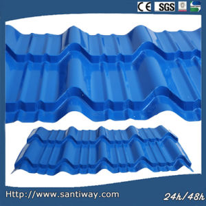 Prepainted Steel Sheet Roof Tile with ISO9001& CE Certificate pictures & photos