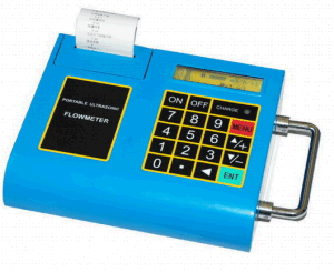 Portable Flowmeter with SD Card and Printer
