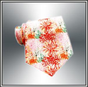 Latest Digital Printing 100% Men Silk Necktie (X1103) pictures & photos