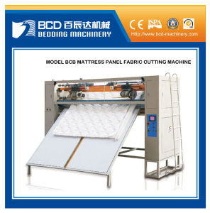 Automatic High Speed Mattress Cutting Machine pictures & photos