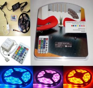 RGB LED Holiday Lighting Decorating Strip Light pictures & photos