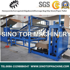 Automatic Honeycomb Cardboard Making Machine pictures & photos