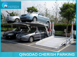 Low Height Tilting Car Lift for Space Only 3m High pictures & photos