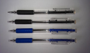 Retractable Stich Ball Pen for School and Office Stationery Supply pictures & photos