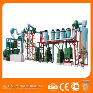 Factory Price Small Scale Corn Flour Mill Machines pictures & photos