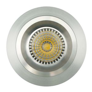 Lathe Aluminum GU10 MR16 Round Fixed Recessed LED Spotlight (LT2108) pictures & photos