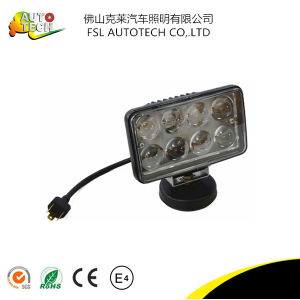 24W 3D Auto Part LED Work Driving Light for Truck pictures & photos