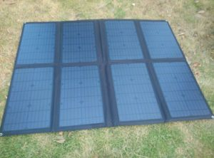160W Army Solar Power Supply System Electricity Solution Foldable Charger Bag Pack pictures & photos