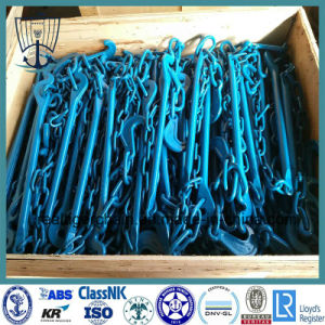 G80 Lashing Chain/ Cargo Binding Chain with Hooks pictures & photos