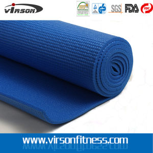 Blue Sticky Non Slip Fitness Yoga Mat
