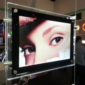 LED Crystal Acrylic Frame Light Box for Advertising Display pictures & photos