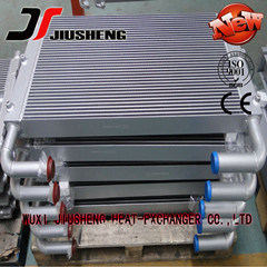 Aluminum Plate and Fin Heat Exchanger for Construction Machinery