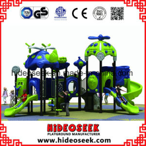 Outdoor Plastic Slides Kids Equipment Playground pictures & photos
