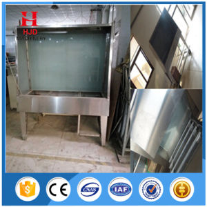 Manual Screen Printing Washing Booth with Backlight pictures & photos