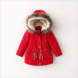 Western Slimming Children Coat for Winter Apparel pictures & photos