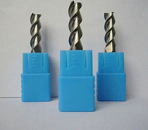 High Quality Aluminum Processing, 3 Flutes Carbide End Mill pictures & photos