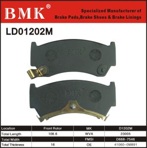Environment Friendly Brake Pad (D1202M) pictures & photos