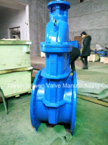 DIN 3352-F5 Non Rising Stem Resilient Seated Gate Valve pictures & photos