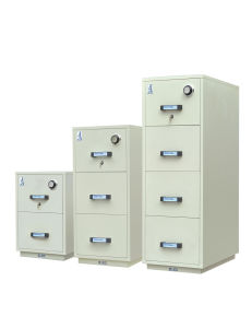 Fireproof File Cabinet, UL 2 Hours Fire Resistant Filing Cabinet, 4 Drawer Metal Storage Safes pictures & photos