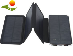2017 China Fast Delivery Portable Mobile Solar Charger Solar Power Bank pictures & photos