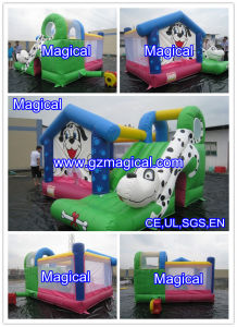 Jumping Moonwalk Combo with Slide Bounce House Bouncy Castle Inflatable Bouncer (MCA-46) pictures & photos