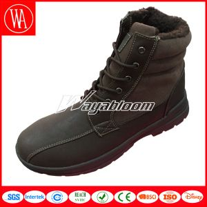 Women Men Snow High Upper Fur Boots for Winter pictures & photos