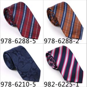New Design Fashionable Stripe Necktie (6288-5) pictures & photos
