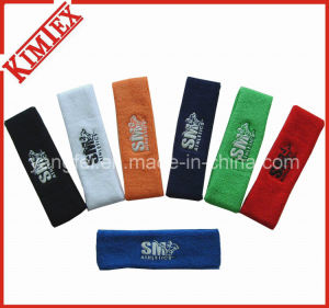 100% Cotton Unisex Outdoor Terry Sports Headband pictures & photos
