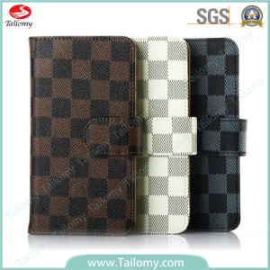 Top Quality Luxury Mobile Cell Leather Phone Case Cover for iPhone 6
