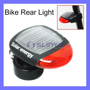 2.6 Inch Solar Panel 2 LED Solar Bike Tail Light pictures & photos