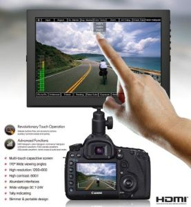 """10.1"""" IPS Touch Camera Monitor with Multi-Touch Capacitive Screen pictures & photos"""